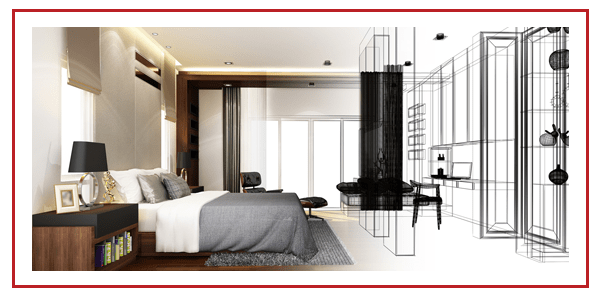 Design of Interior Bedroom