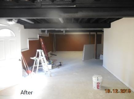 After Basement Renovation