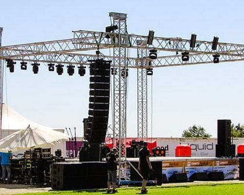 Concert Setup Services
