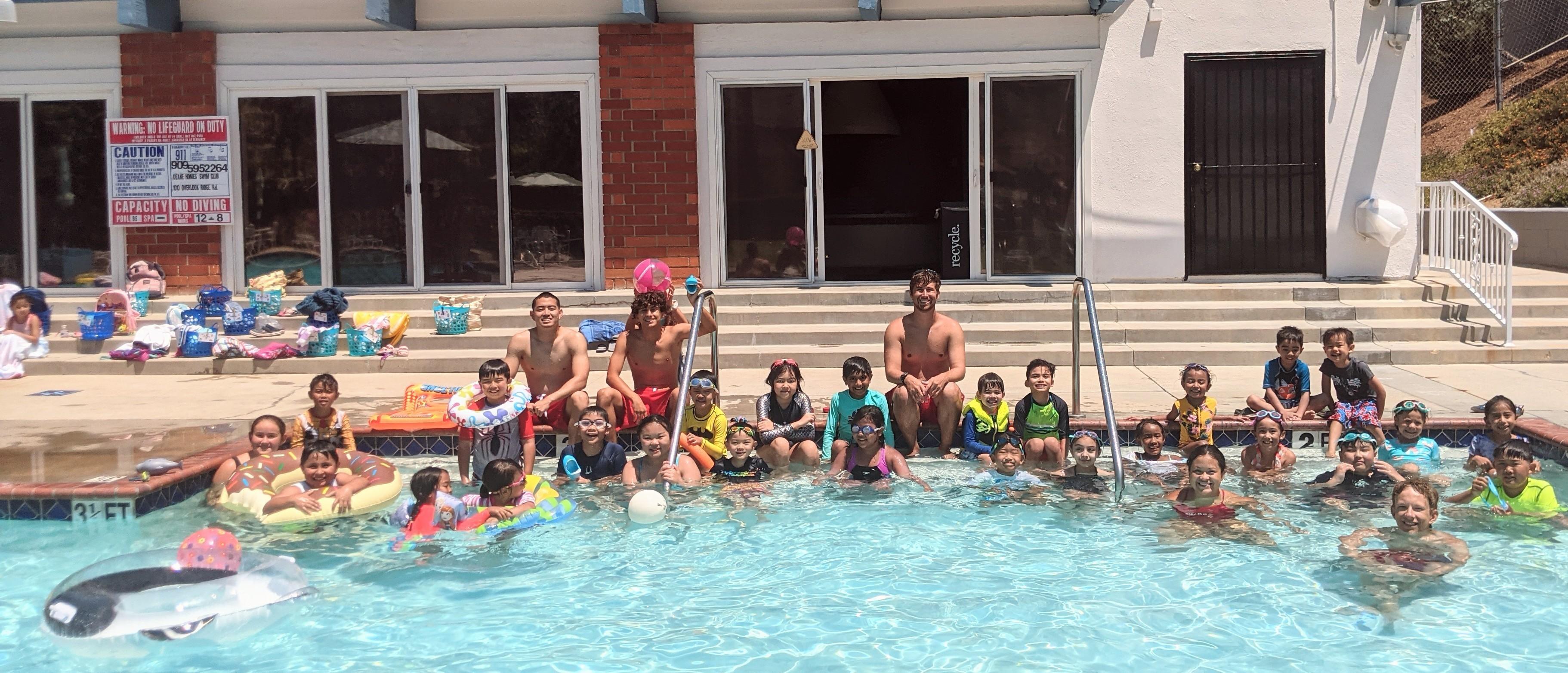 Summer Fun Swim Camp Session #4
