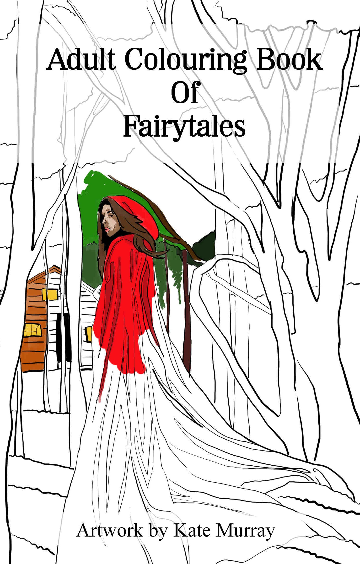 An Adult Colouring Book of Fairytales