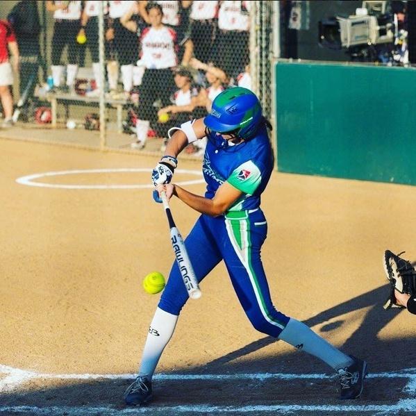 Ashley Hitting the Ball