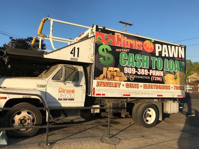 Pawn Shop Service Truck
