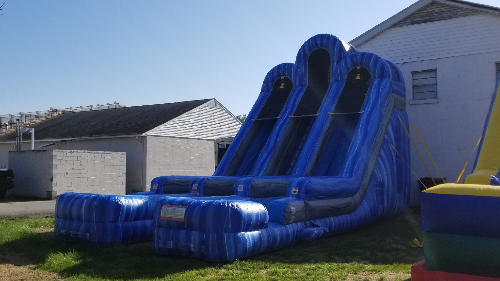 Dual Lane Slide Can be used wet or dry! Dry $350        Wet $375