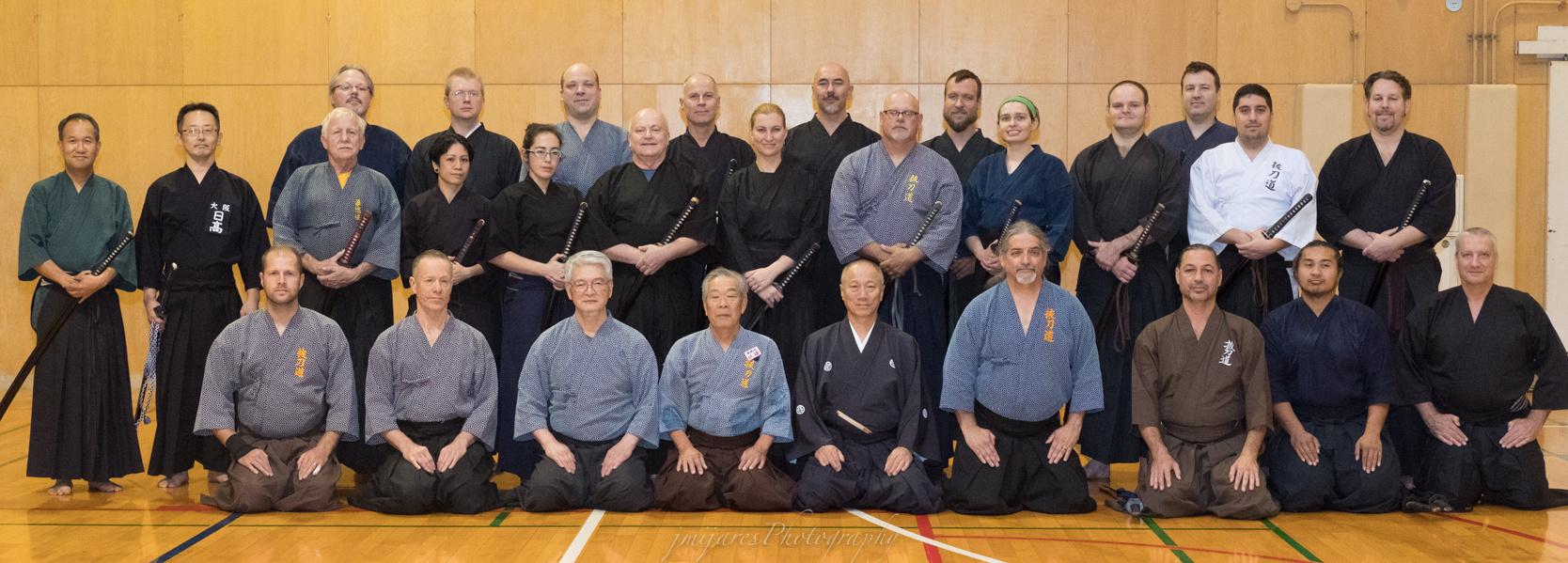 Saturday Pre-Taikai training group photo.