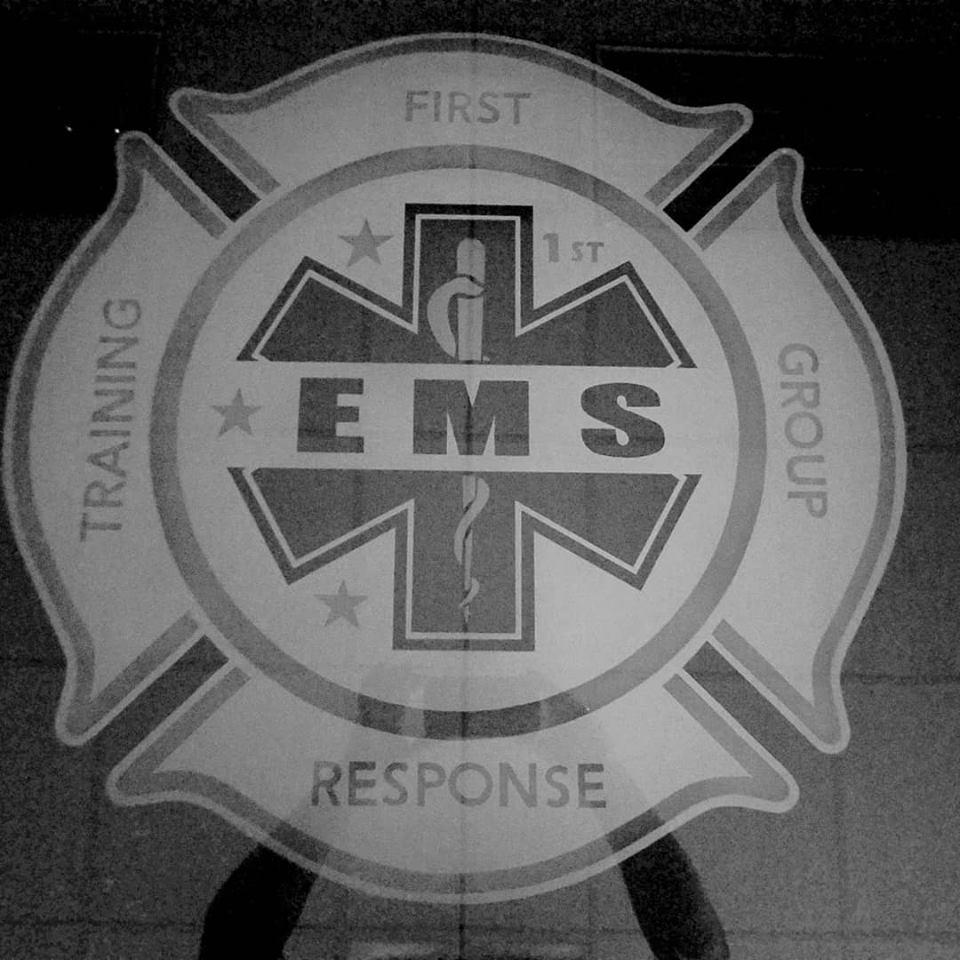 EMS Logo Etching