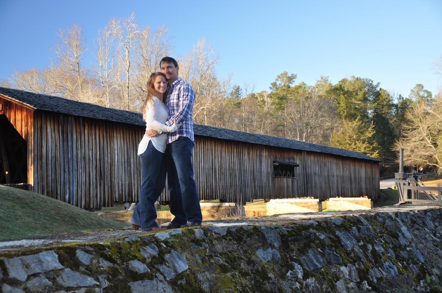 Dr. Parham and then fiance Cory, March 2016