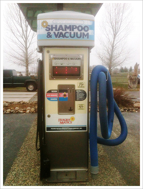 Shampoo and vacuumer with meter||||