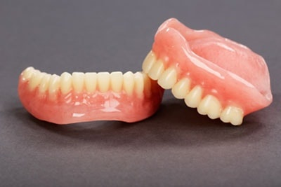 A Set of Dentures