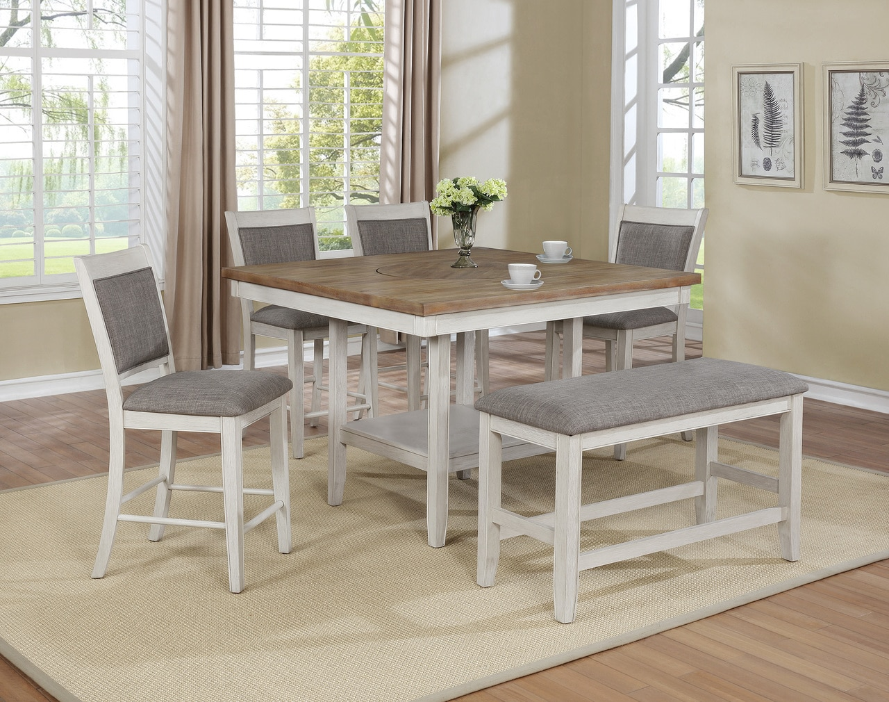 2727WH Pub Dining Set