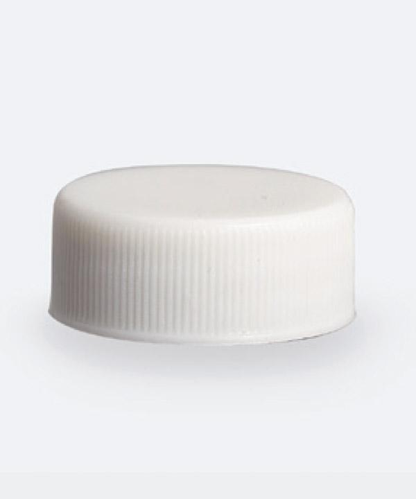Tapa 28mm Estandar Blanca c/liner
