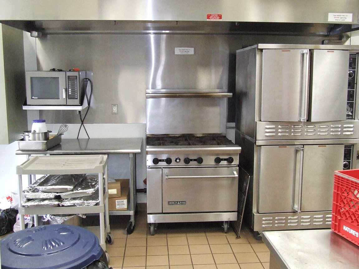 Kitchen -stove area