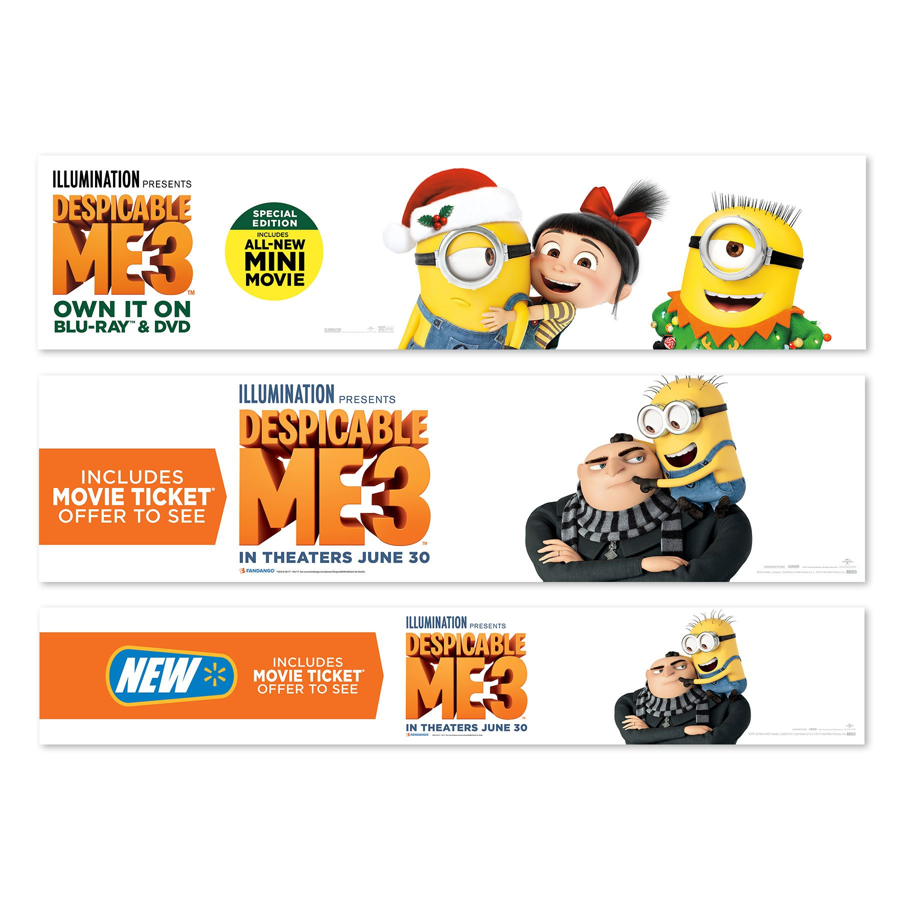 Despicable Me 3 Signs