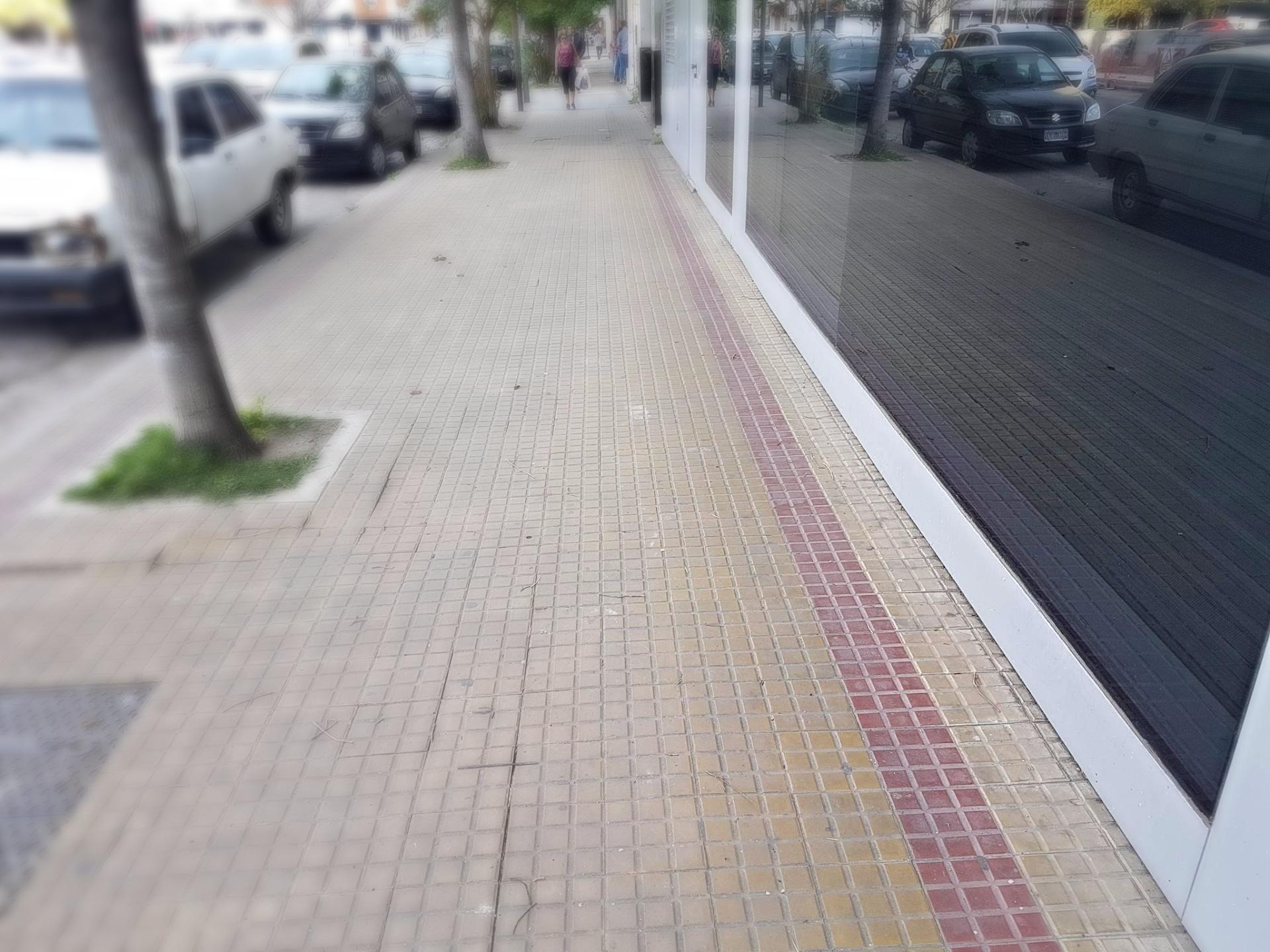 Vereda La Plata