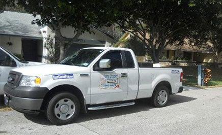 Pool Company Truck 1