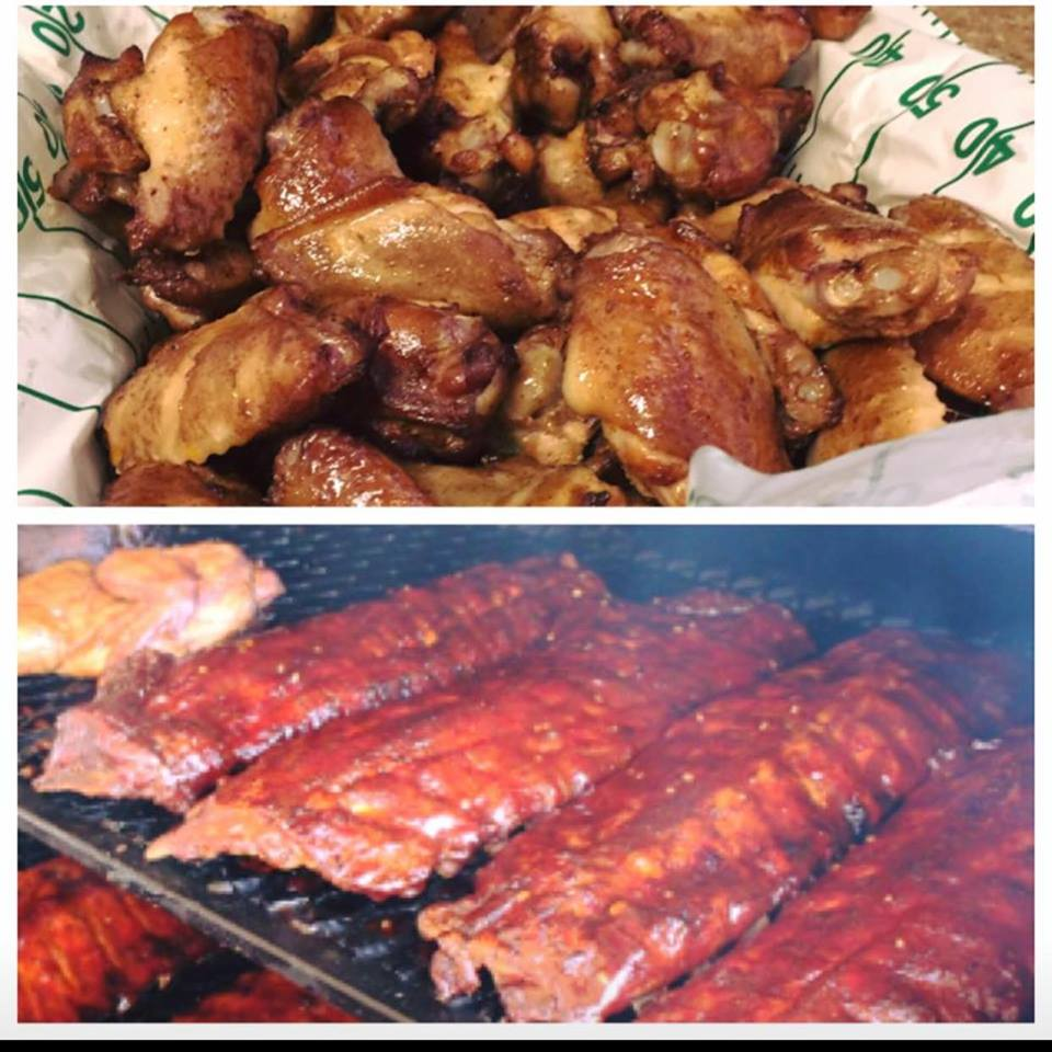 Buffalo Wings and Barbecue Ribs