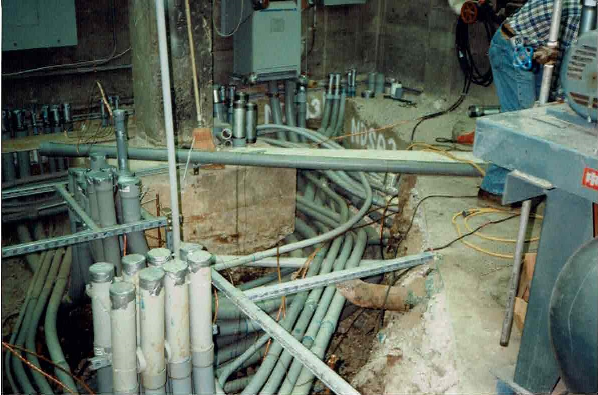 conduit at Tillamook Hospital
