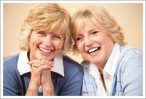 Senior women smile||||