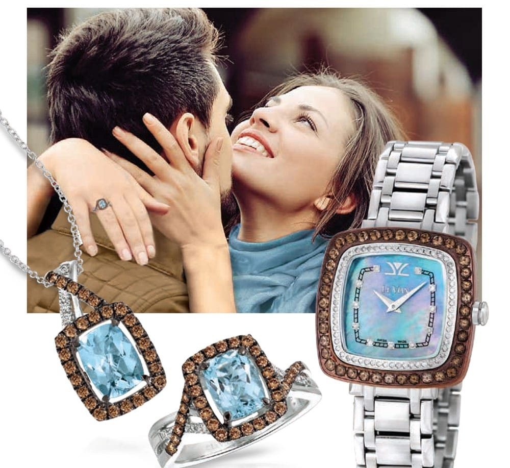 Le Vian Jewelery And Watch Set