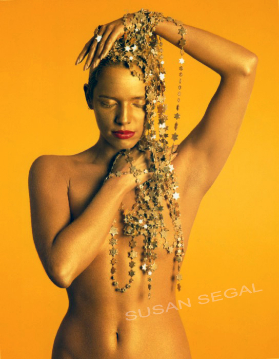 Golden Woman with Stars - Los Angeles