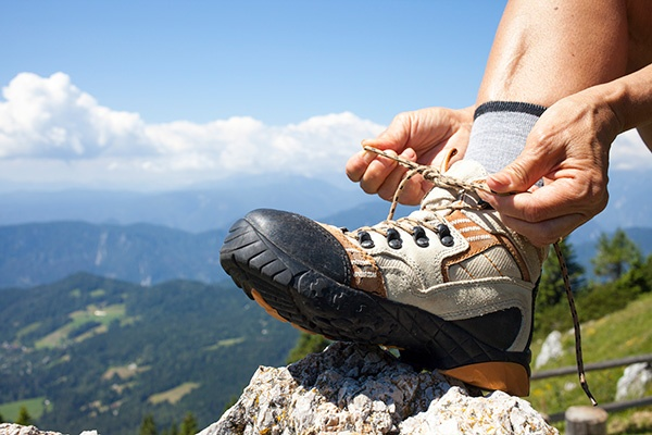 Getting your feet ready for the next hundred miles