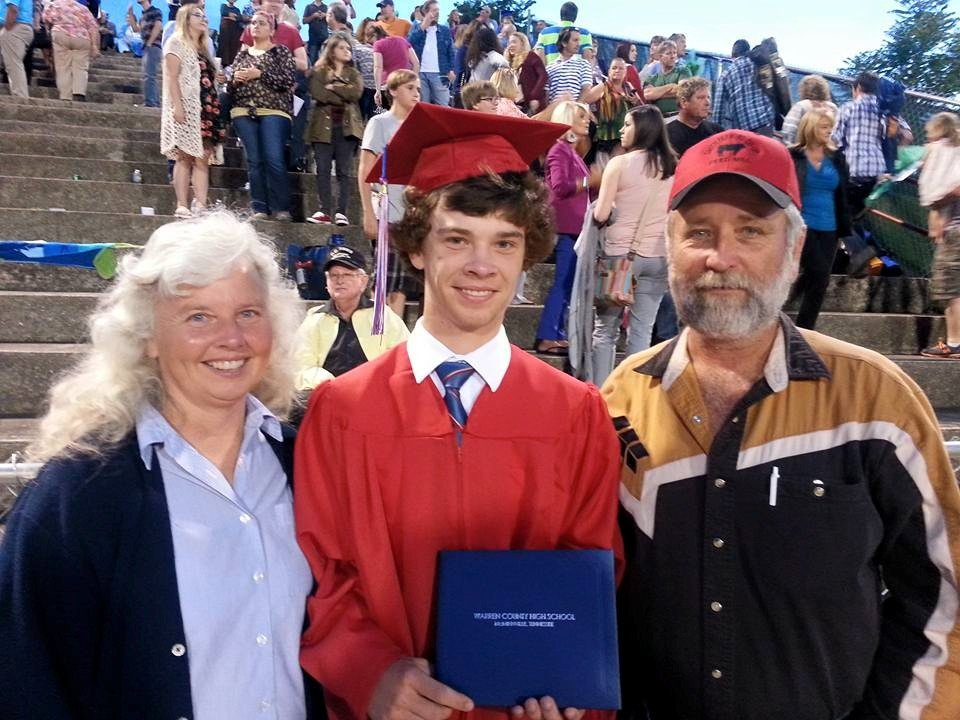 Clay's High School Graduation