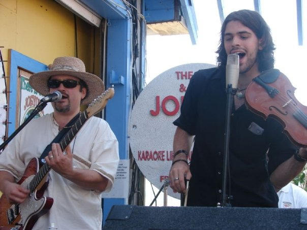 Rob & special guest James Rossi