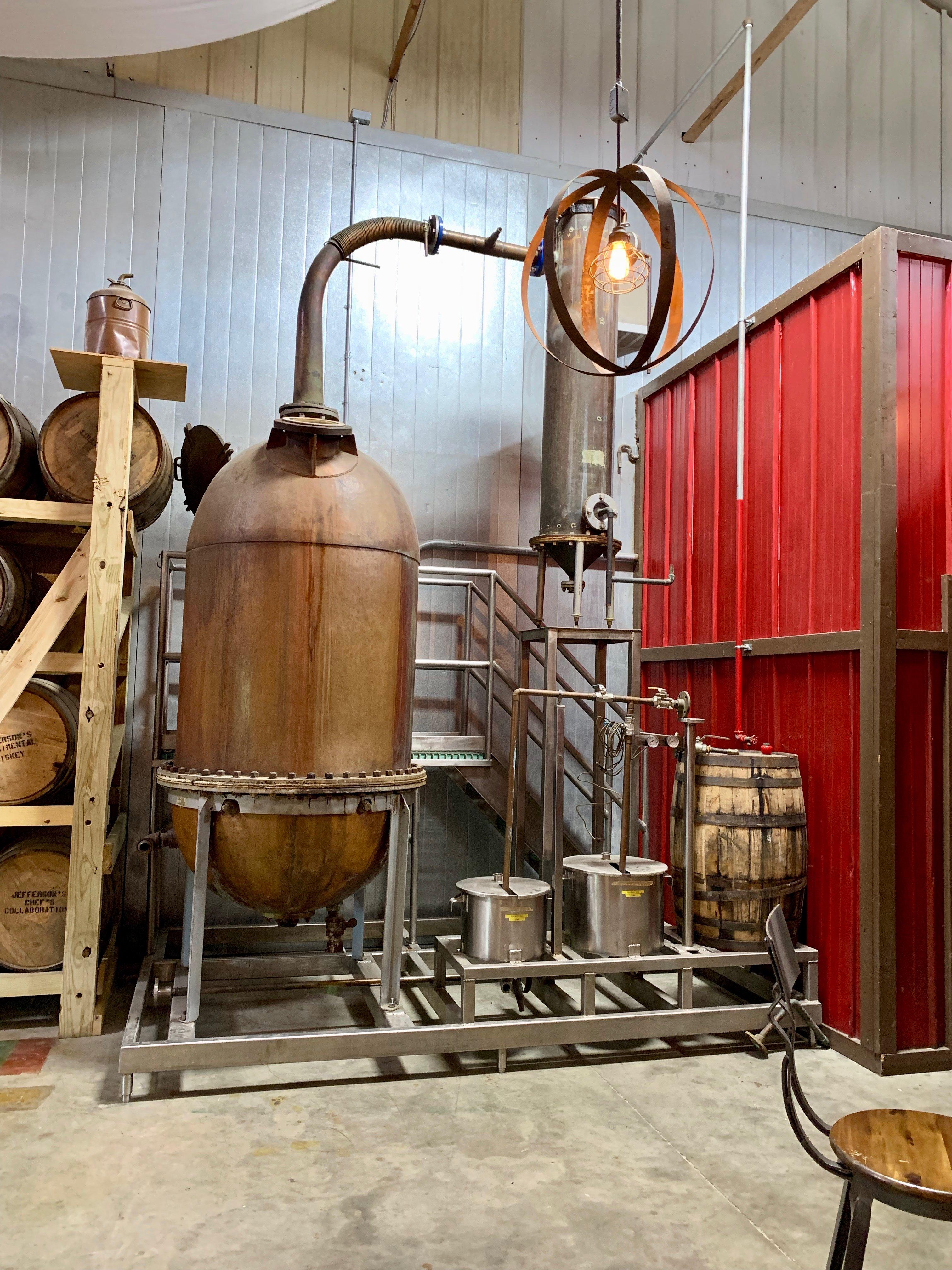 Original Still from Early Times Distillery - Kentucky Artisan Distillery