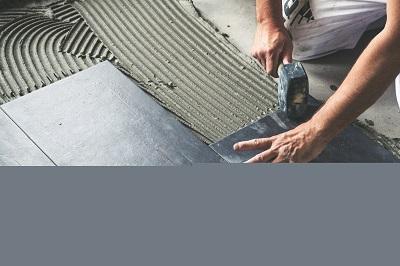 Tile installation mortar