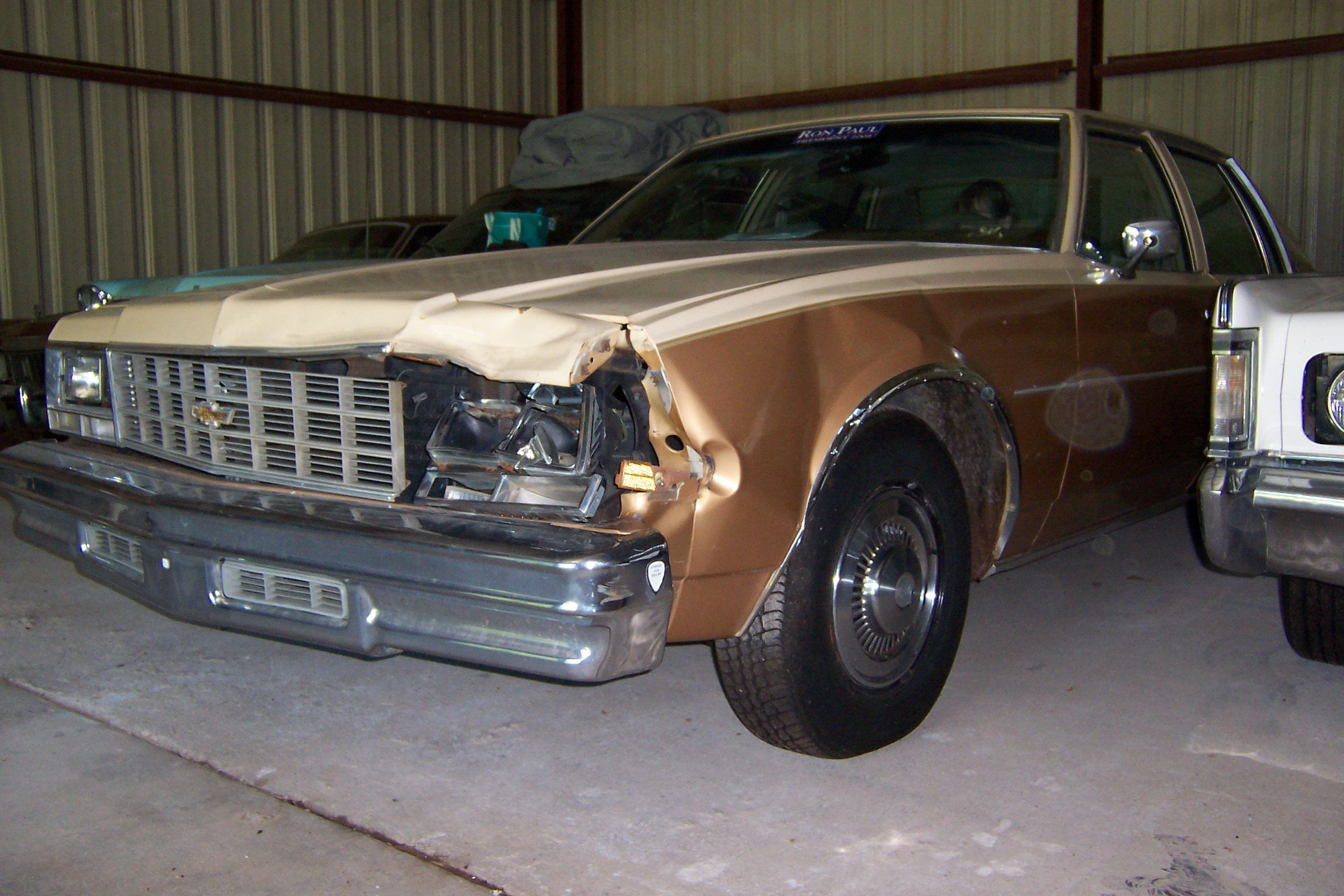 Damaged Chevrolet Impala
