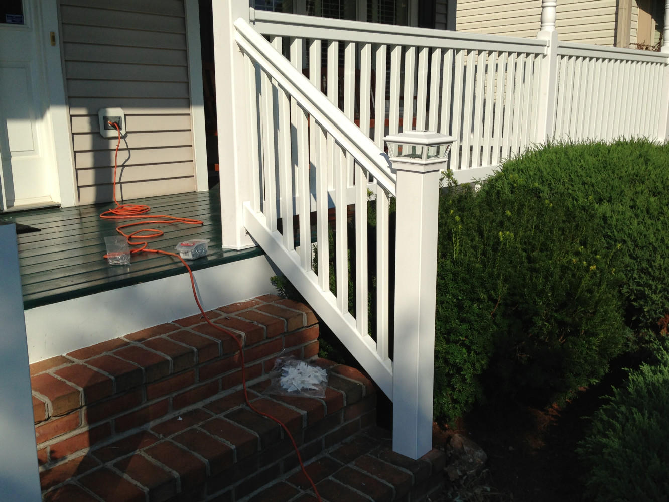 * Replacing Railings
