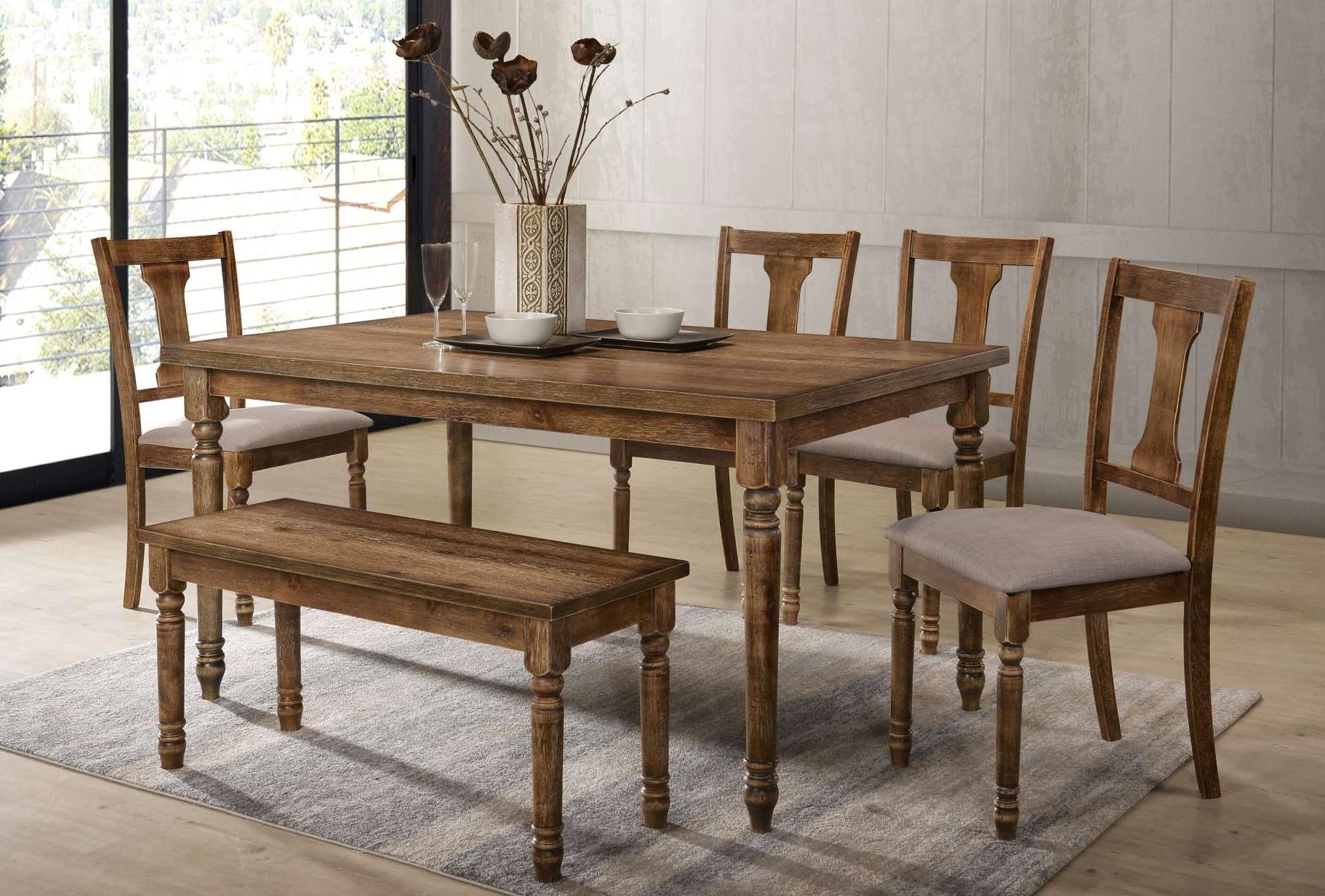 DIN 71730 Oak dining Set