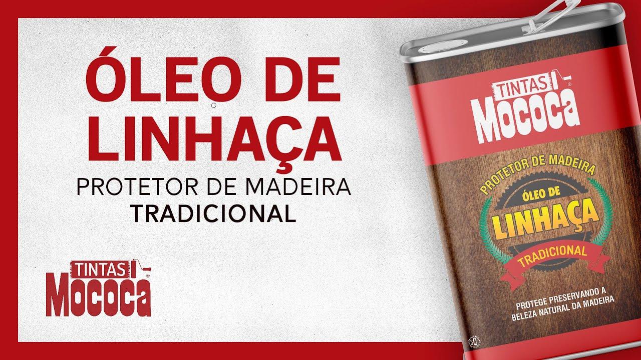 ÓLEO DE LINHAÇA MOCOCA PROTETOR DE MADEIRA