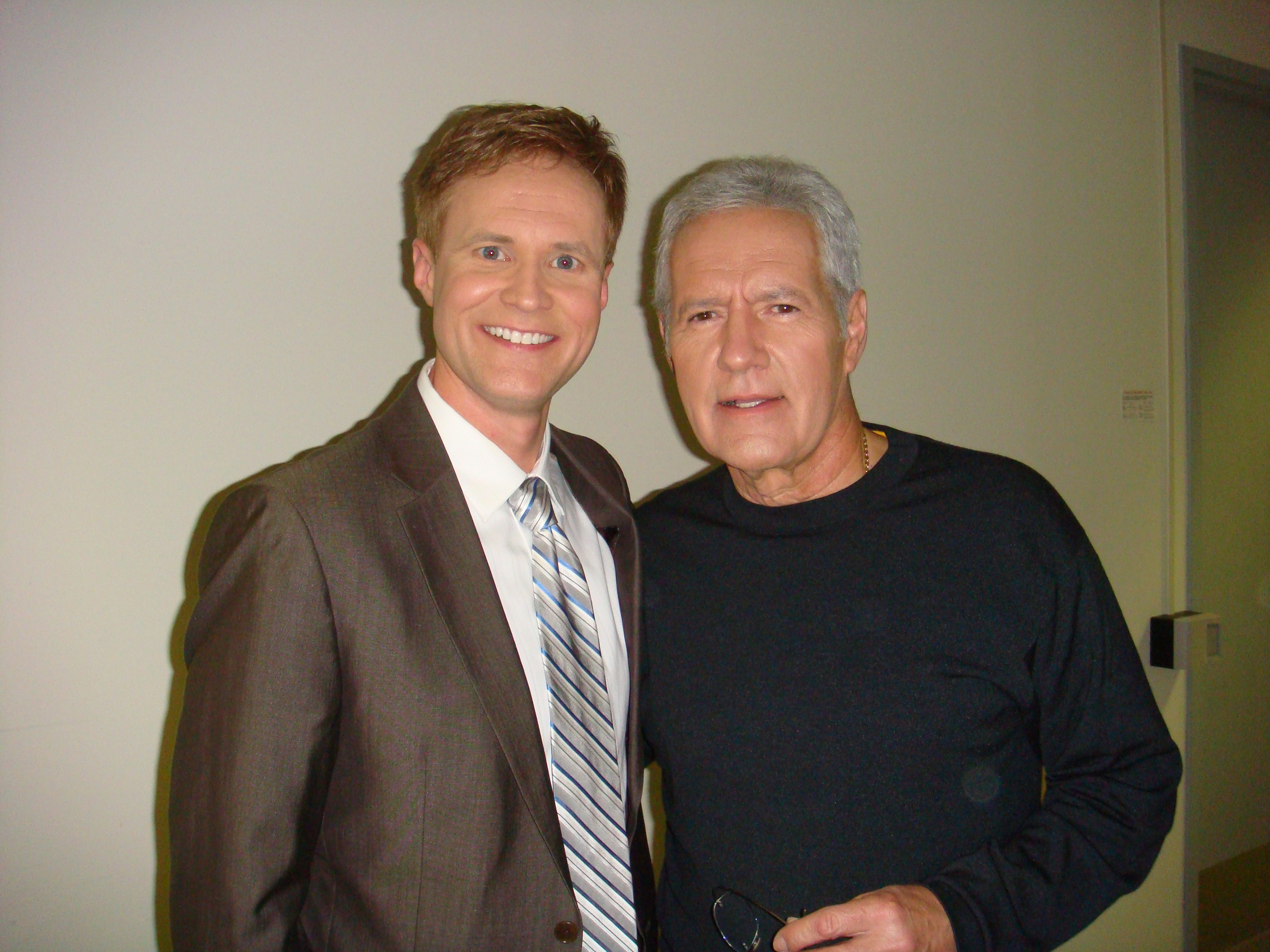 Todd and Mr. Trebek