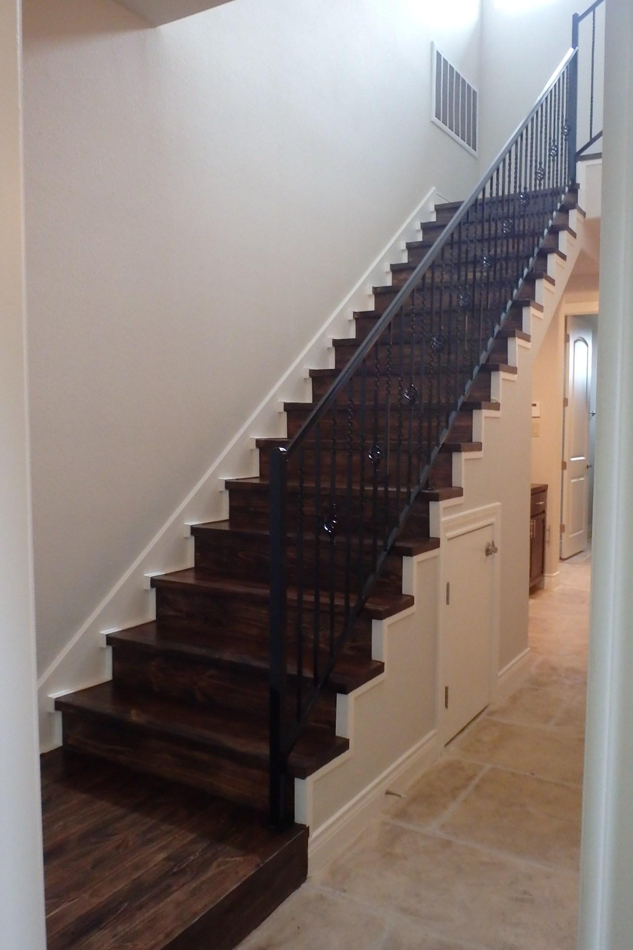 Wooden Stairwell 1