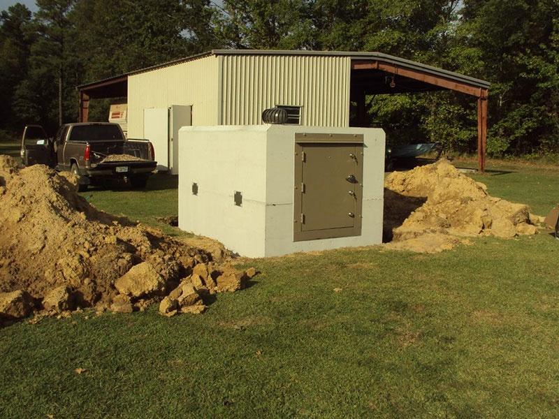 Commercial Bunker Shelter