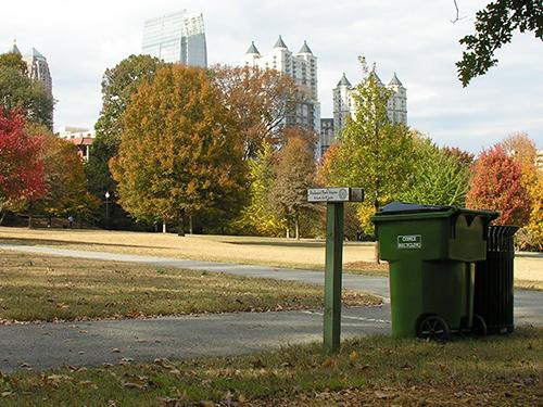 Recyclable Waste Bin