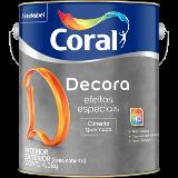 DECORA EFEITOS ESPECIAIS CORAL CIMENTO QUEIMADO