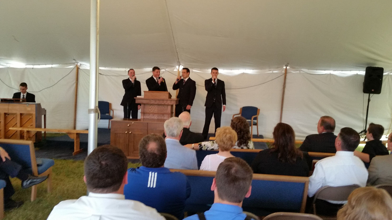 Old Paths Tent Meeting!