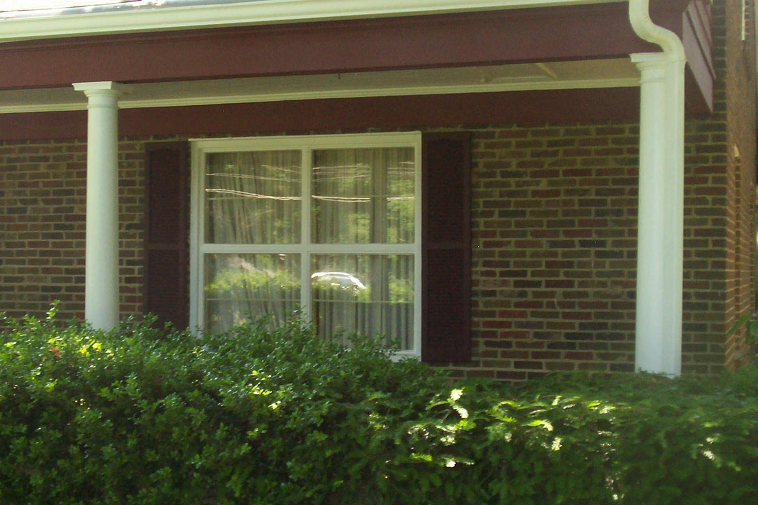 * Replacing shutters