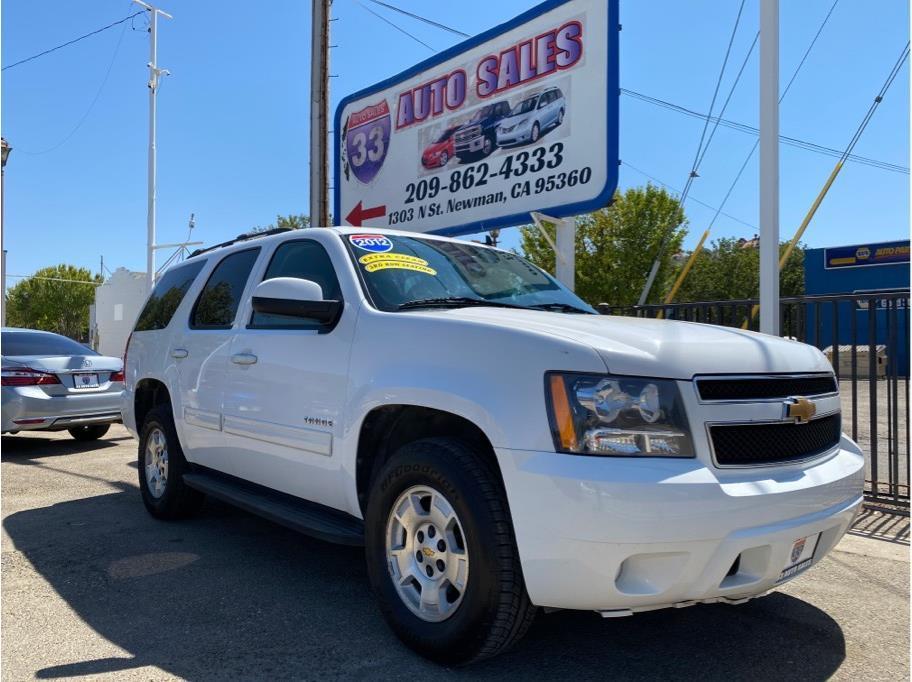 2012 Chevrolet Tahoe LS Sport Utility 4D Miles:114,246 Drive:2WD Trans:Automatic, 6-Spd w/Overdrive Engine:V8, Flex Fuel, 5.3 Liter VIN:140377