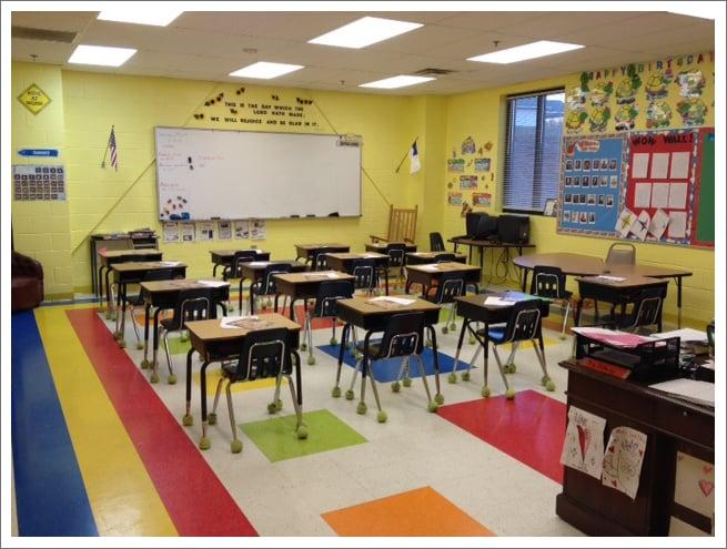 Elementary classroom 1||||