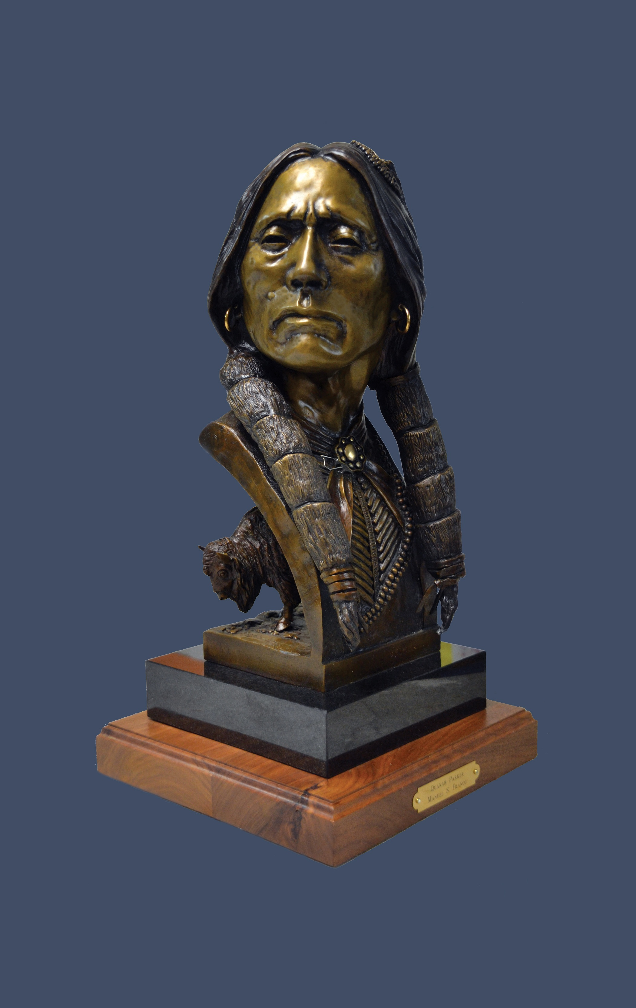 """ Quanah Parker""  Bronze  #7 of 10 20"" tall"