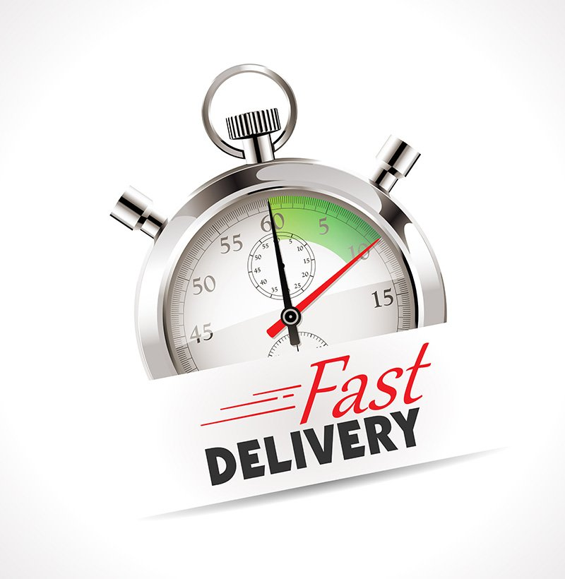 Stopwatch fast delivery
