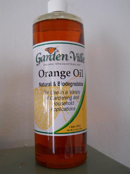 Gardenville orange oil