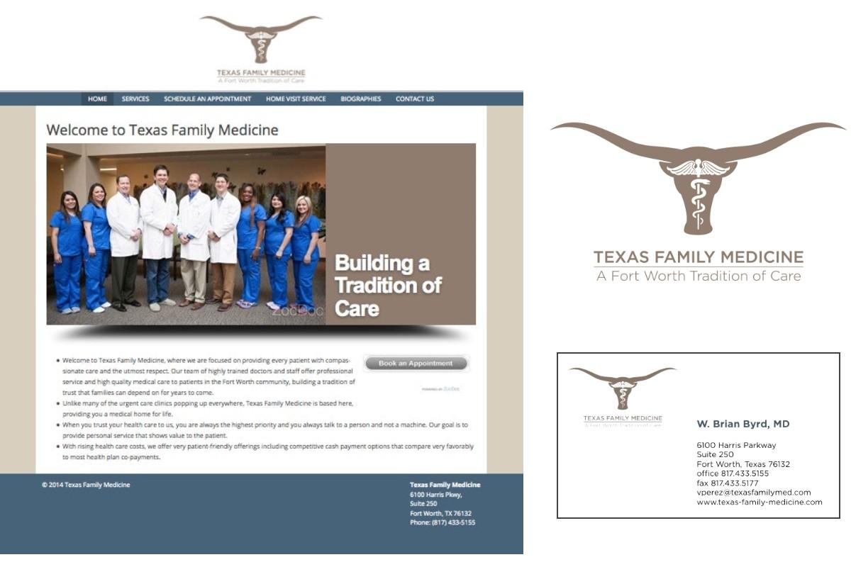 Texas Family Medicine Branding and Website