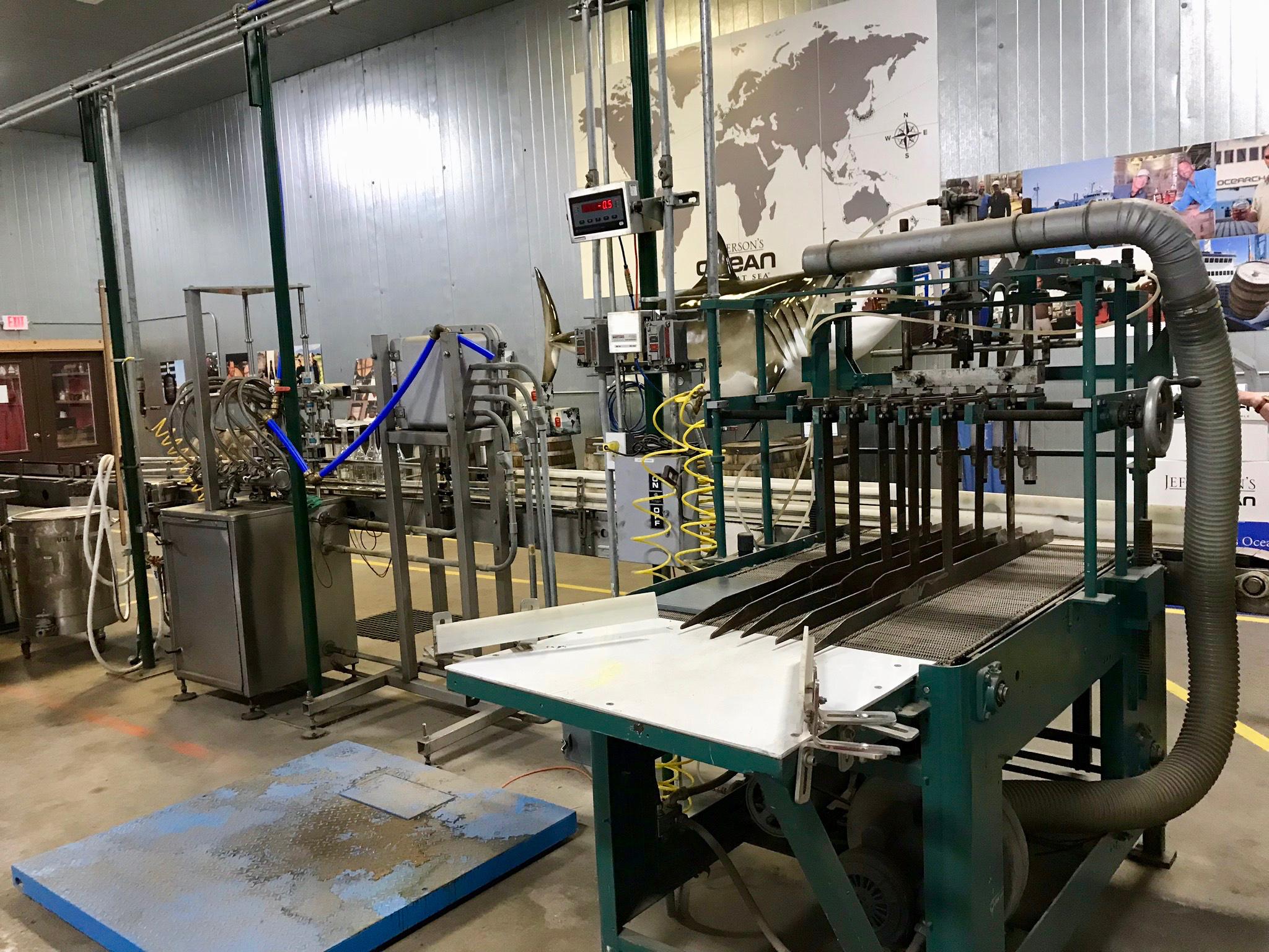 Bottling Line - Kentucky Artisan Distillery