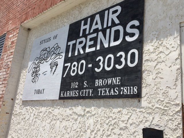Hair Trends 102 S. Browne St. 830 780-3030