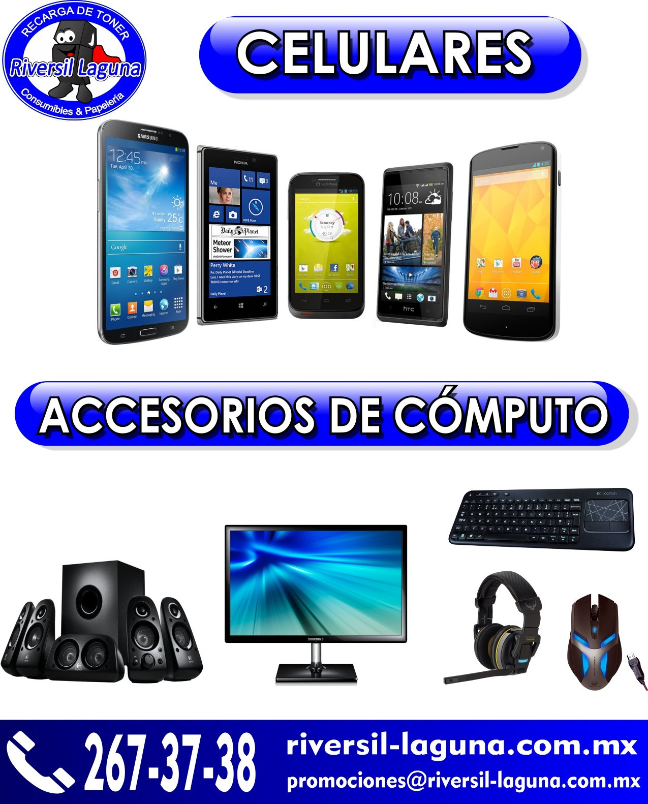 electrónica y accesorios