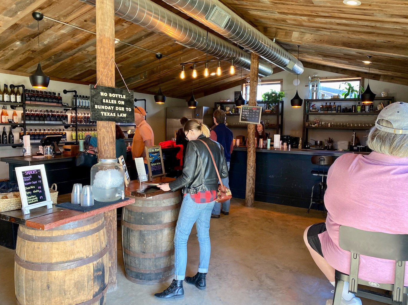 Tasting Room - Visitor Center - Treaty Oak Distilling